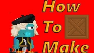 How To Make - Super Crate Box (Growtopia