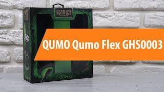 Розпакування навушників QUMO Qumo Flex GHS0003 / Unboxing QUMO Qumo Flex GHS0003