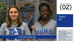 The Week at Duke {in 60 Seconds}: Monkey Mind Control; Gellman-Hayden Talk