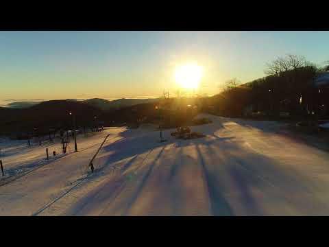Sunrise Over The Slopes, Feb 18, 2018