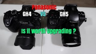 New Panasonic GH5.  Is it worth the upgrade from the GH4? Ep59