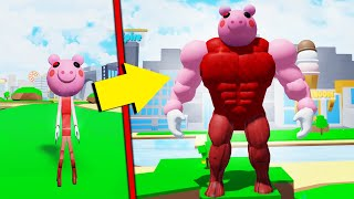 Piggy Becomes A THICK LEGEND In Roblox...