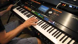 Roland Jupiter-80 Synthesizer Performance