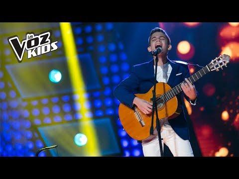 Santy Molina canta Todo de Cabeza - Audiciones a ciegas | La Voz Kids Colombia 2018