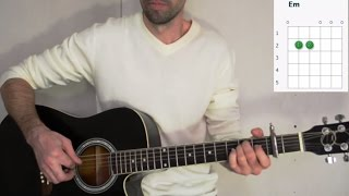 Технология - Странные танцы - Аккорды на гитаре, кавер под гитару