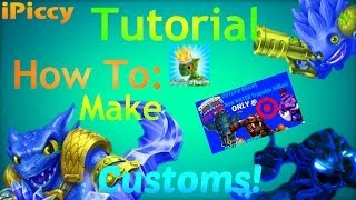 How I Make: Skylanders Customs & Thumbnails For My Videos