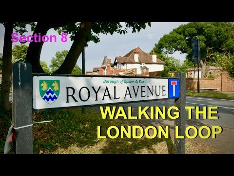 Download Walking the London Loop Kingston - Ewell Section 8 4K Mp4 baru