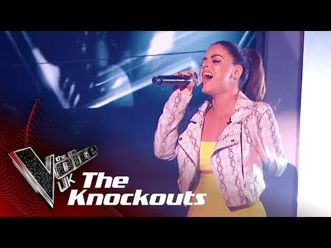 Paige Young Performs 'Power': The Knockouts | The Voice UK 2018