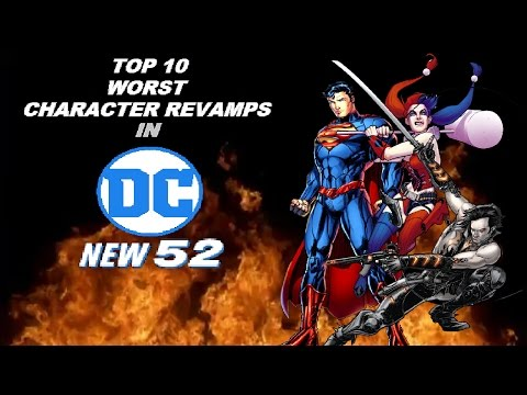 Top 10 Worst Character Revamps in DC