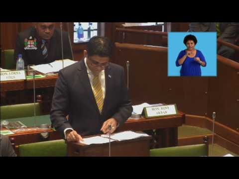 Fijian Attorney General's Ministerial Statement, Digital Television in Fiji