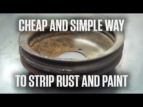 DIY | How to strip rust and paint on the cheap