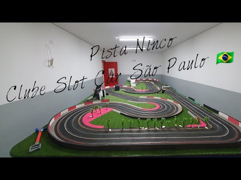 Pista Ninco Slot Car São Paulo 🇧🇷 🏁 #ninco