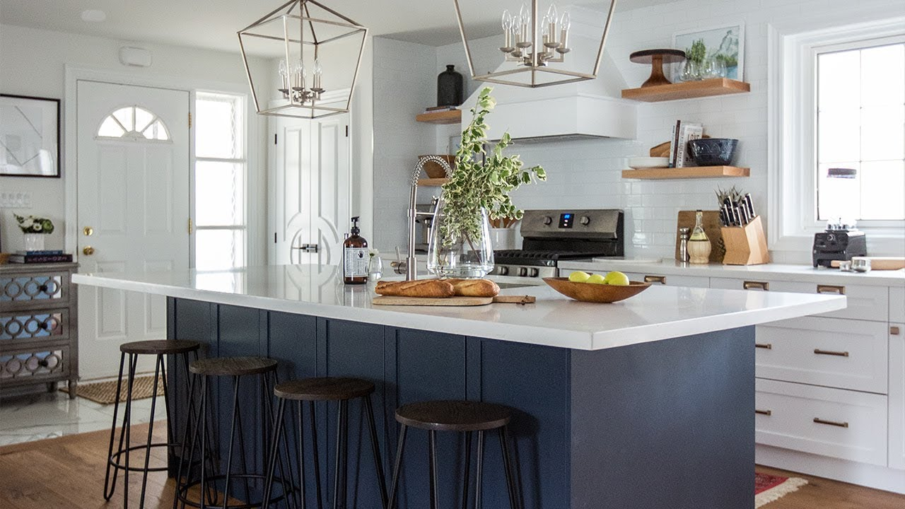 Interior Design An Old House Gets A Total Overhaul Youtube - Interior-designed-kitchens