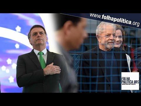 Bolsonaro se pronuncia sobre soltura de Lula: 'Não dê munição ao canalha...
