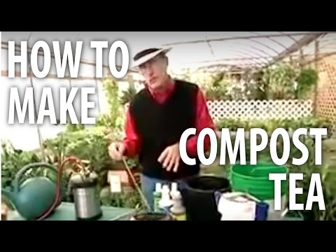 How To Make Compost Tea - The Dirt Doctor