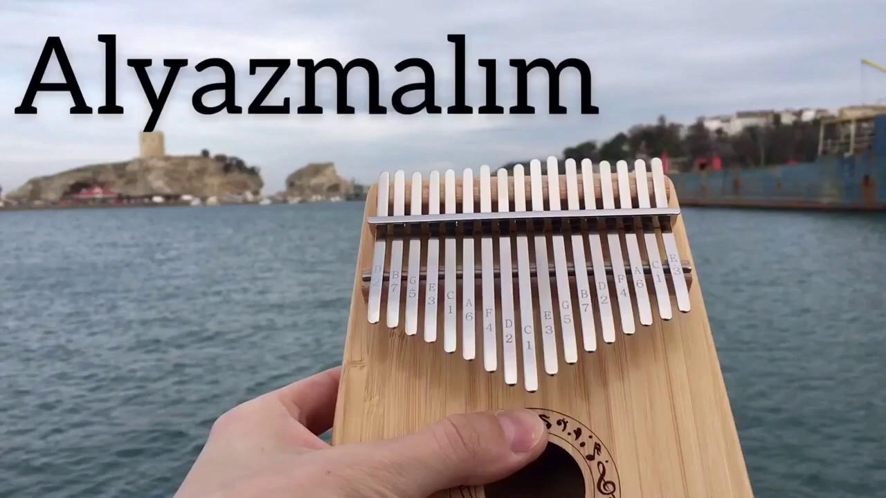 Pro Kalimba - Al Yazmalım Yavaş Çekim Eğitici Video Notalar açıklamada