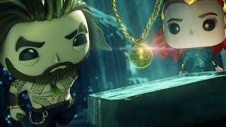 Funko Animated Shorts | Aquaman: Underwater Ambush | DC Kids