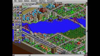 Classic Games 2: SimCity 2000 (New YouTube City Pt.12) Nothing Bad Happens!!!