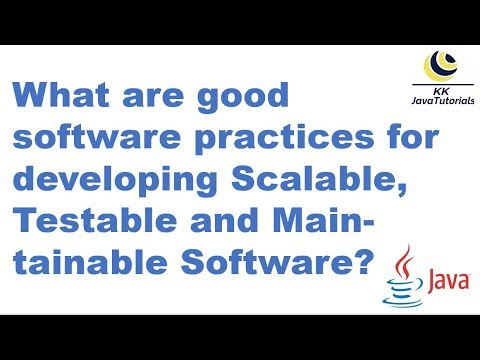 what-are-good-software-practices-for-developing-scalable,-testable-and-maintainable-software?