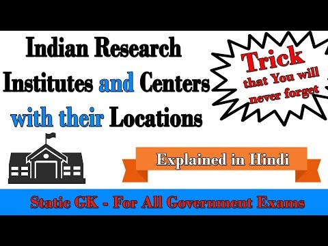 Indian Research Institutes and Centers