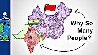 Why Do India And China Have So Many People