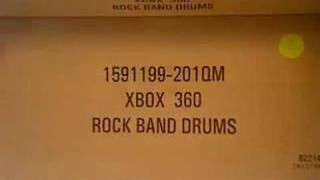 Rock Band Unboxing - Xbox 360