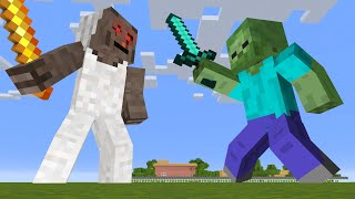 Monster School : Super Big Giant GRANNY vs Monster - Funny Minecraft Animation