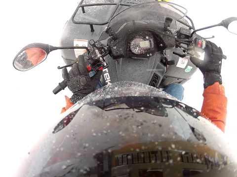 CECTEK GLADIATOR mit 150cm Schneeschild im Einsatz