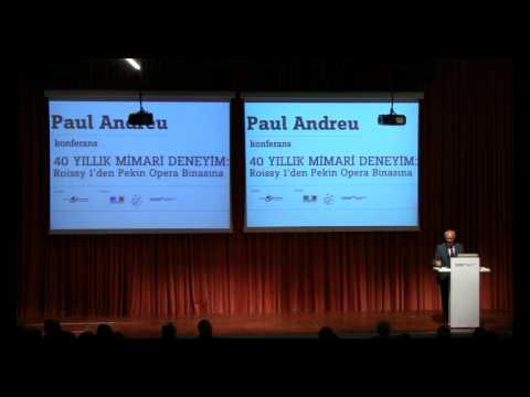40 Yıllık Mimari Deneyim - Paul Andreu Part 1