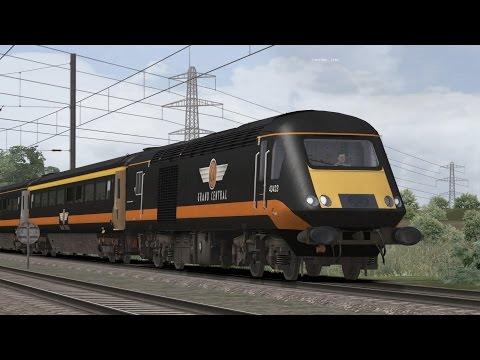 Train Simulator 2017: Class 43(MTU) Peterborough-London King Cross