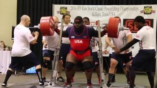 Ray Williams 438kg/966lb IPF WORLD RECORD Squat