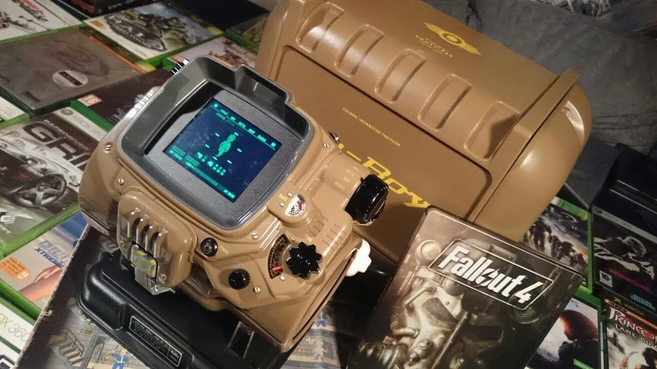 Fallout 4 Game Of The Year Pip-Boy Edition Unboxing - YouTube
