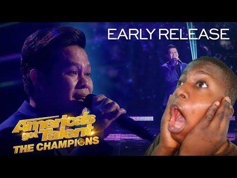 """Marcelito Pomoy sings """"Beauty and the beast"""" with dual voice    #marcelitopomoy #agtreact #reactvids"""