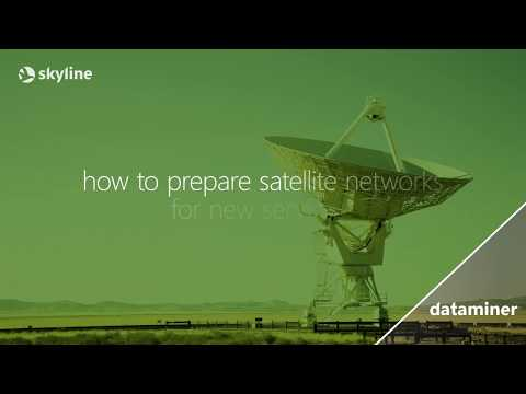 DataMiner solutions - Orchestrating satellite services