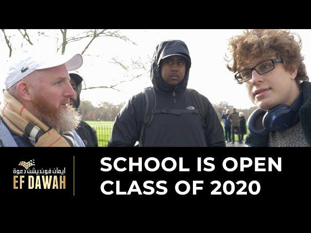 School Is Open Class Of 2020