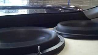 SoundStream Triple X 15's w/ 7000 Watts - Loudest AeroPort Bass Demo YET! D Tower SPL Car Audio Amps