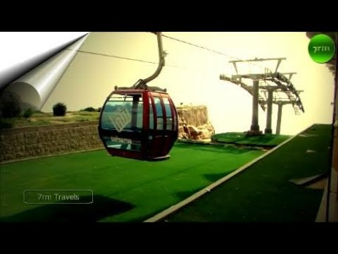 Travelling on the Telefric Cable Car Al Hada Taif Saudi Arabia - 7rm Travels