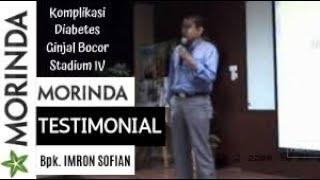 Testimoni Tahitian Noni Komplikasi Diabetes Dan Ginjal Bocor Stadium Iv  Bpk Imron Sofian