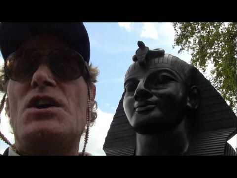 Out Of Place Egyptian Obelisk In London England