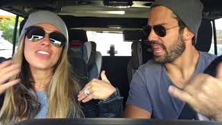 Jessie James Decker & Eric Decker - Almost Over You - Car Karaoke