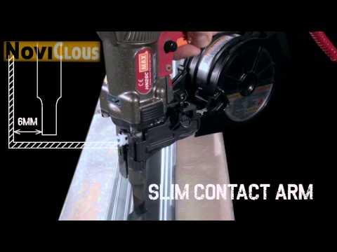 NOVICLOUS - Vidéo Cloueur MAX HN25C