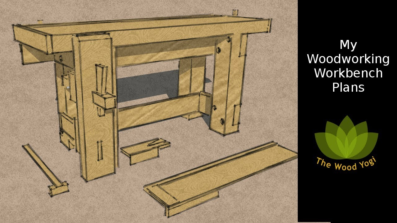 My Woodworking Workbench Plans Youtube