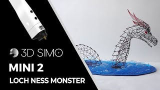 Mistery of the Loch ness monster is already solved 3D pen (3dsimo mini)