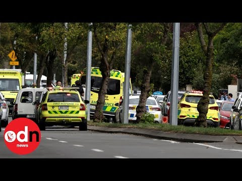 New Zealand attack: Emergency services respond