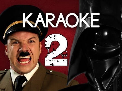 [KARAOKE ♫] Hitler vs Vader 2. Epic Rap Battles of History. [INSTRUMENTAL]
