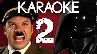 Repeat youtube video [KARAOKE ♫] Hitler vs Vader 2. Epic Rap Battles of History. [INSTRUMENTAL]