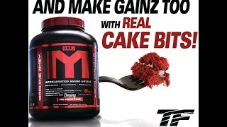 Creamy Red Velvet Cake MTS Nutrition Machine Whey is HERE with REAL CAKE BITS