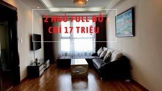 Cao Cấp Giá Rẻ - Cho Thuê Căn Hộ 2 Phòng Ngủ 2WC Chung Cư StarCity 23 Lê Văn Lương, Cầu Giấy, Hà Nội