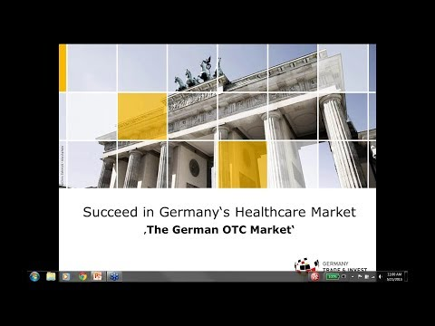 The German Consumer Healthcare (OTC) Market Date (May 2015)