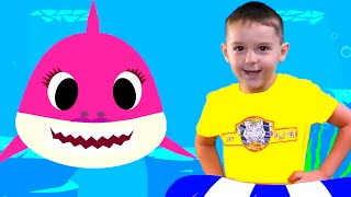 Baby Shark Dance | Sing and Dance! Nursery Rhymes & Kids songs by Nart JJ